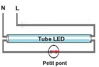 tube led sans ballast ni starter