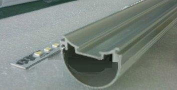 profil aluminunium tube led